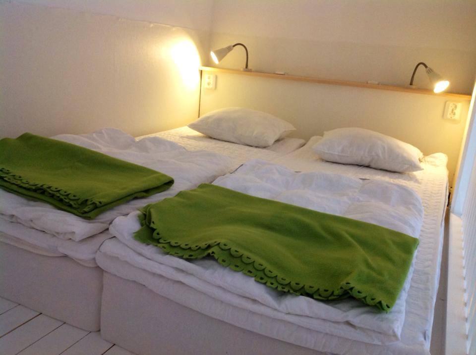 Uppe på sovloftet
