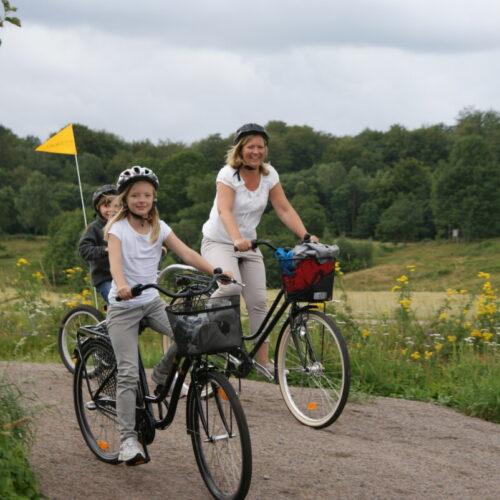 Ta med familjen på cykeltur