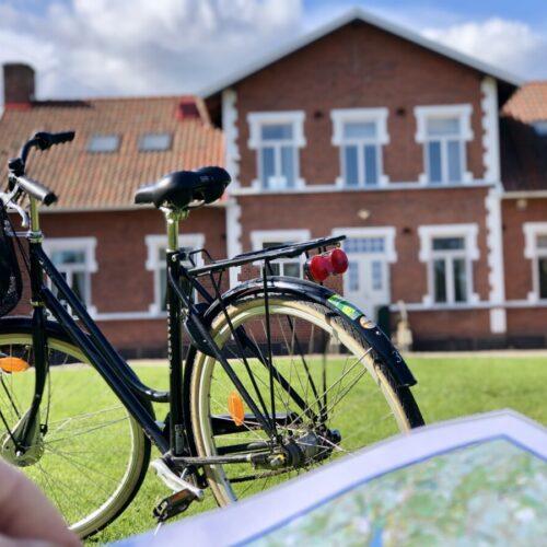 Cyklar finns att hyra hos oss!