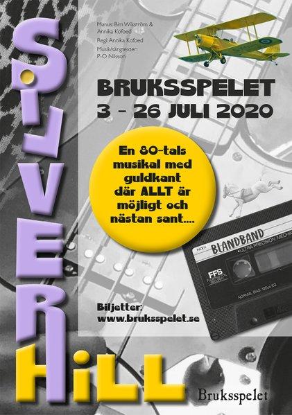 """Bruksspelet 2020 – musikalen om """"Silverhill"""""""