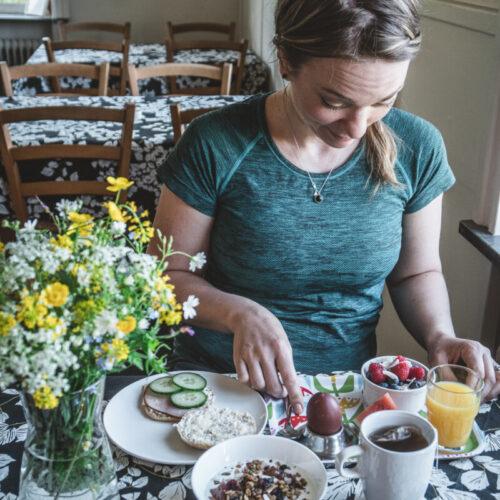 Frukost på Pensionat Söderåsen